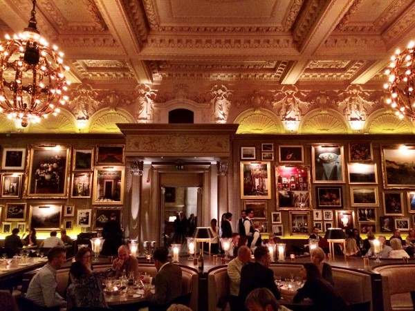 Berners Tavern Gorgeous Setting