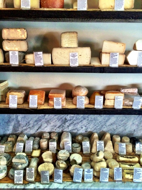 La Fromagerie cheese room