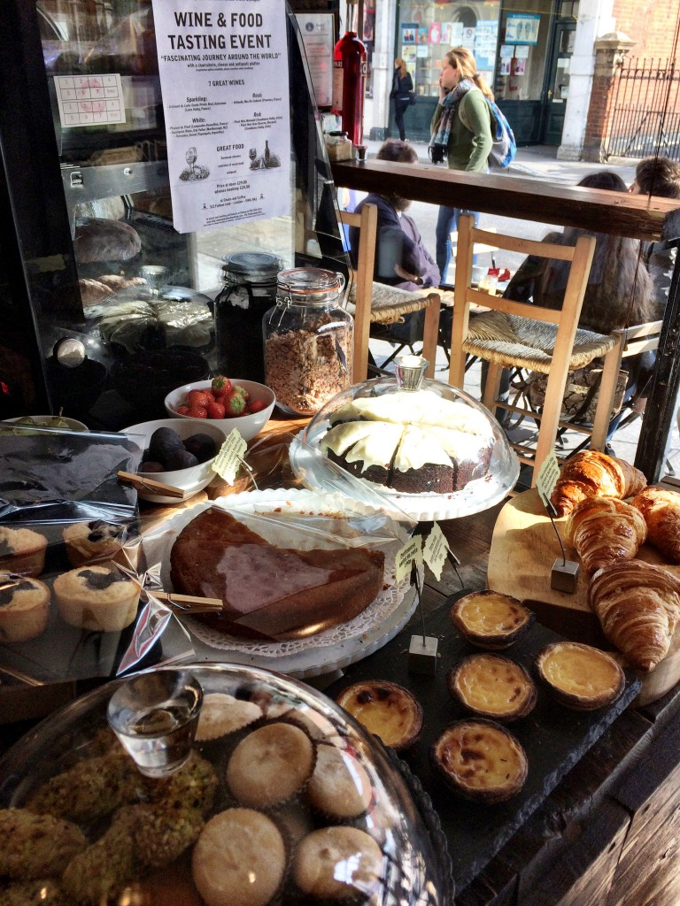 Amazing pastries at Chairs and Coffee