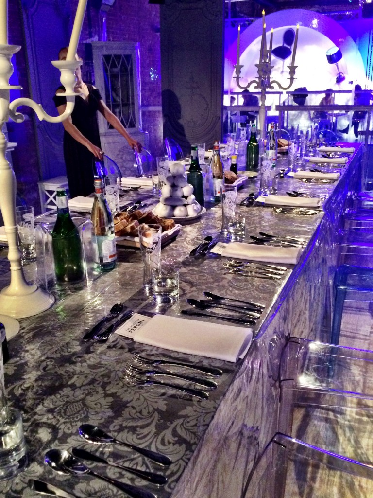 Private dinner at House of Peroni