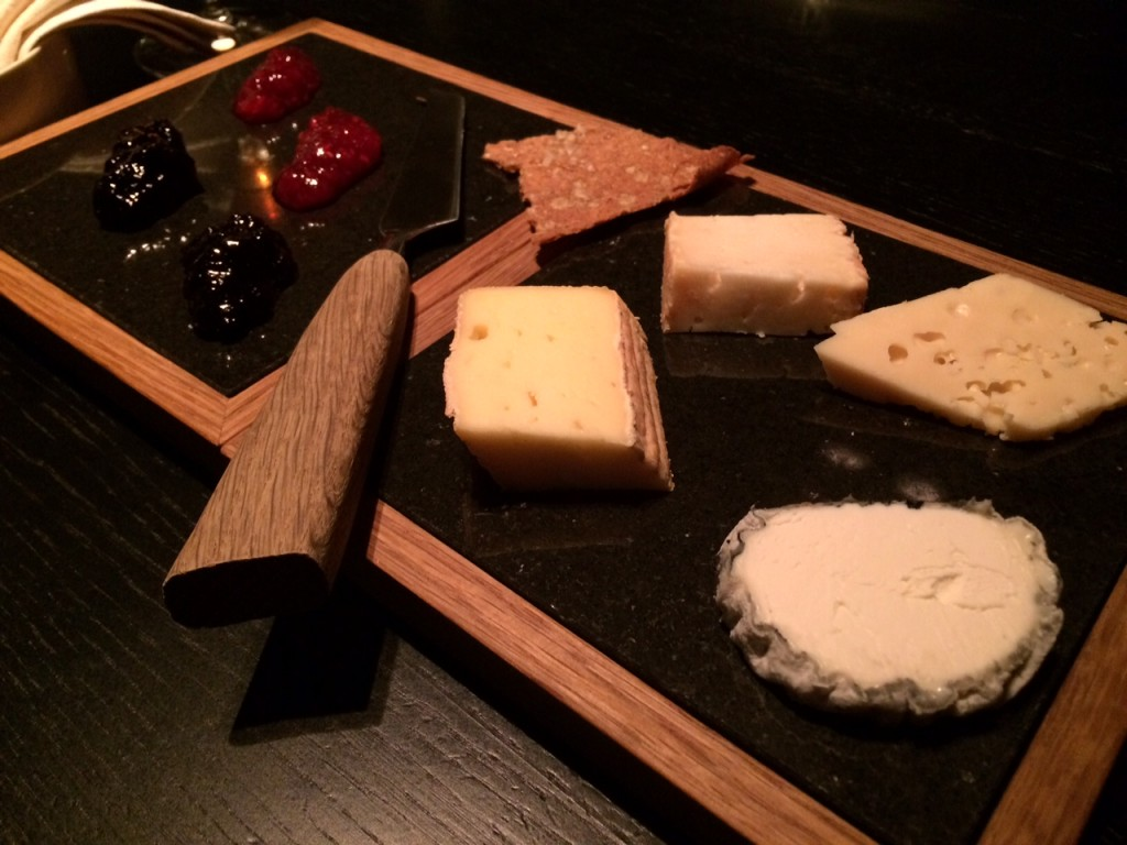 Cheese course at Daniel Berlin