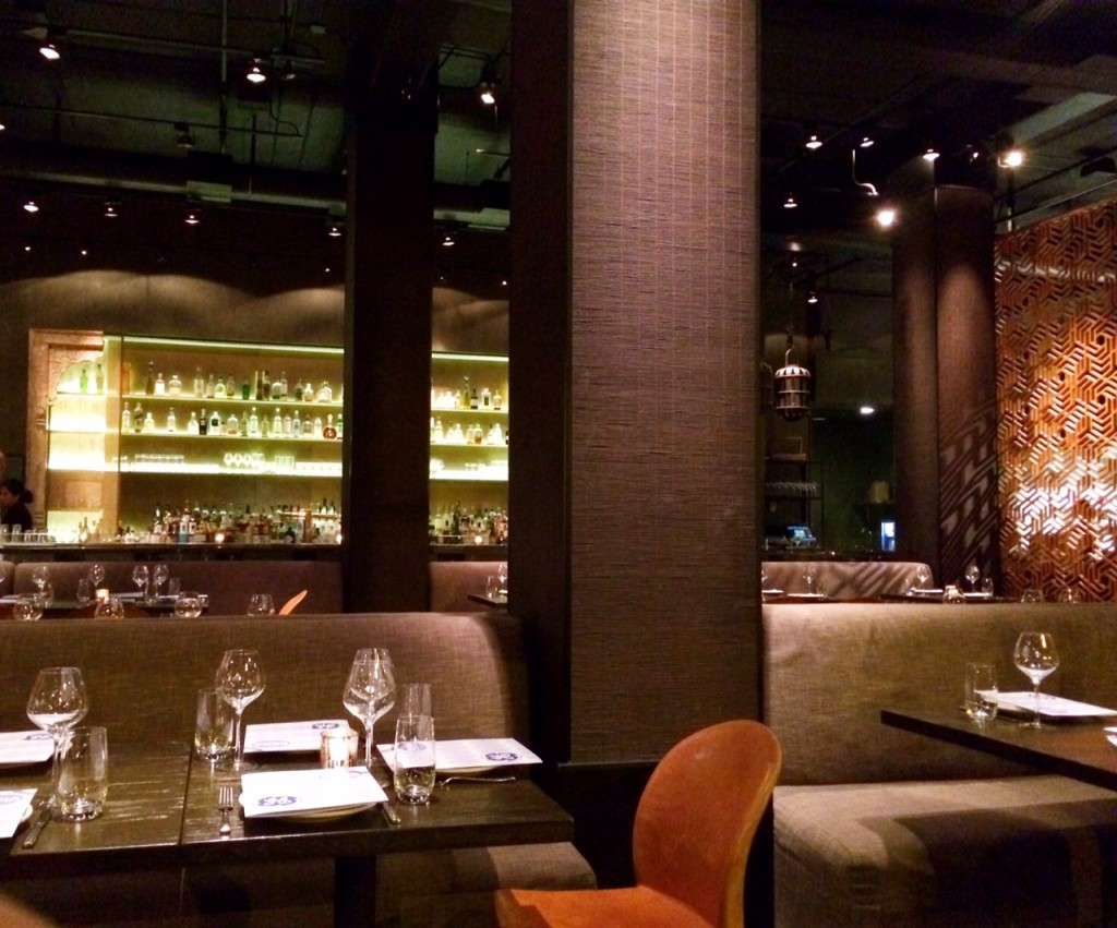 Main dining area at Embeya Chicago