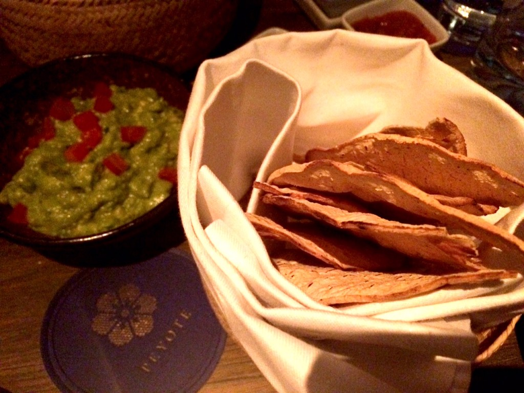 Guacamole at Peyote Restaurant Londo