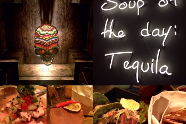 Fun vibe and decor at Peyote Restaurant London