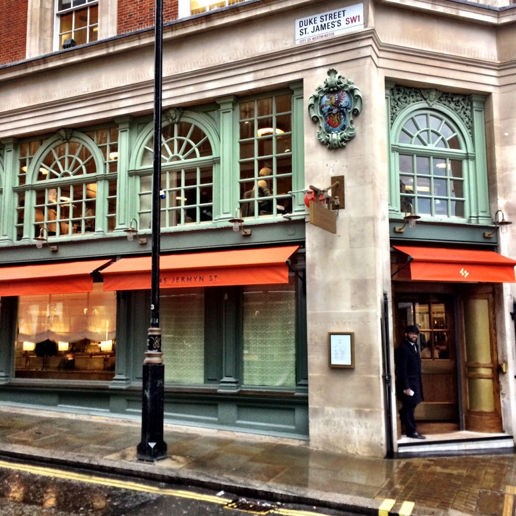 at 45 Jermyn Street Restaurant London