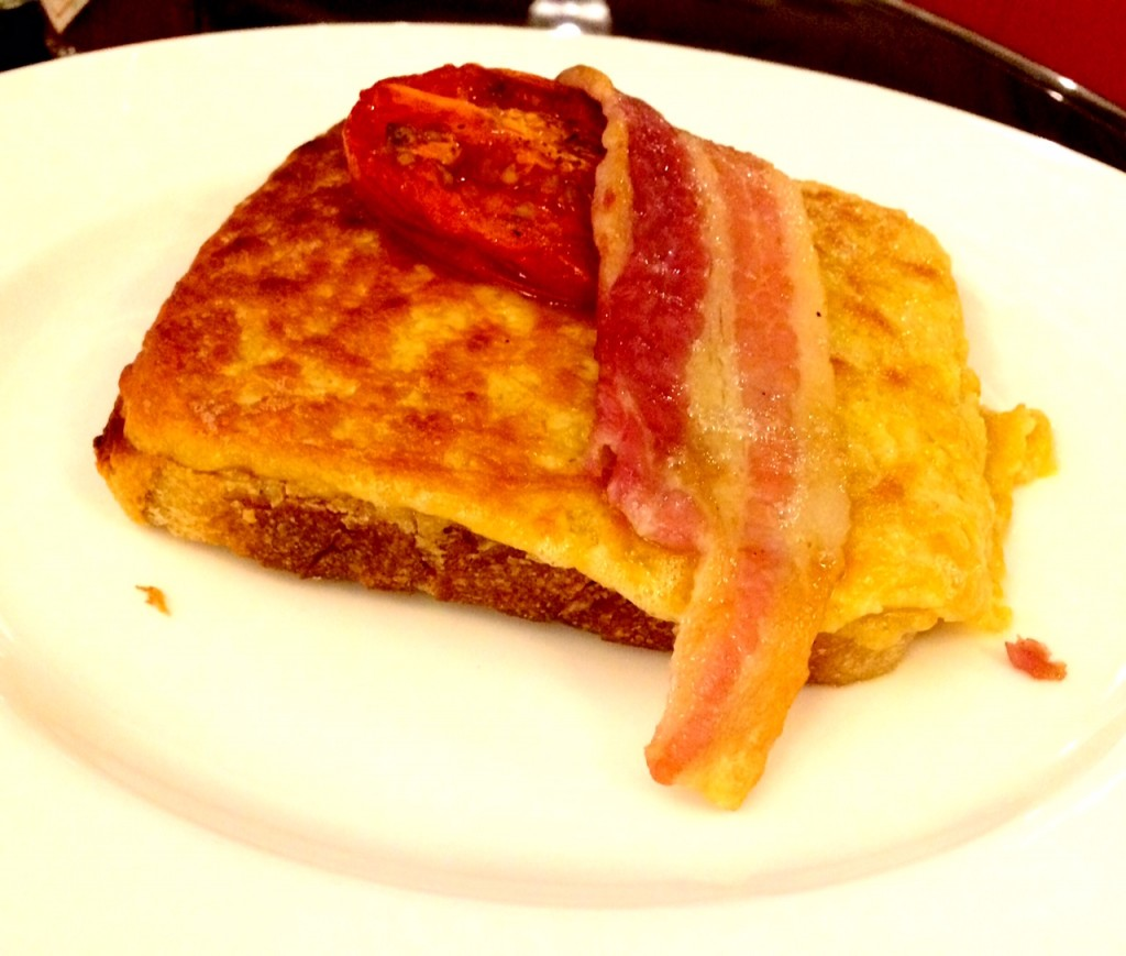 Tasty Welsh Rarebit at 45 Jermyn Street Restaurant London