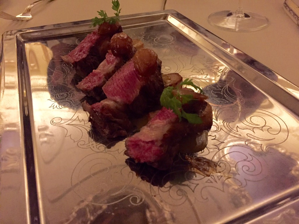 Amazing beef course at 50 Days of Adria