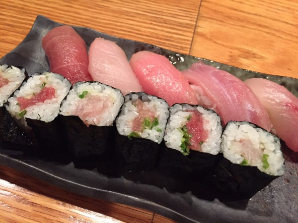 Sushi Deluxe at Kurumazushi NYC