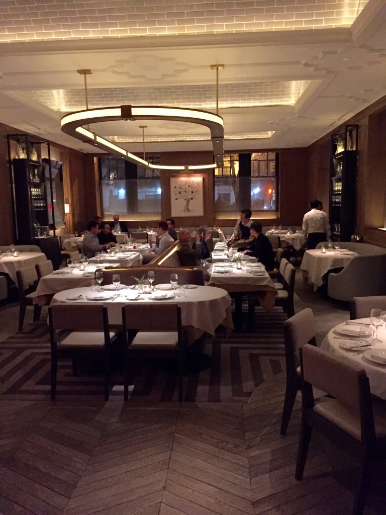Dining room at Vaucluse NYC