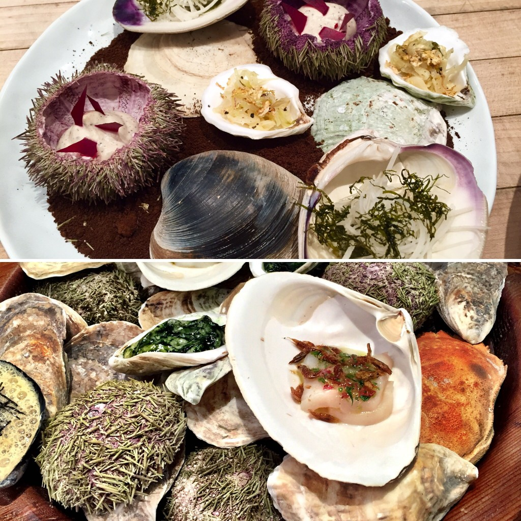 Shellfish and everything they eat at Blue Hill Stone Barns