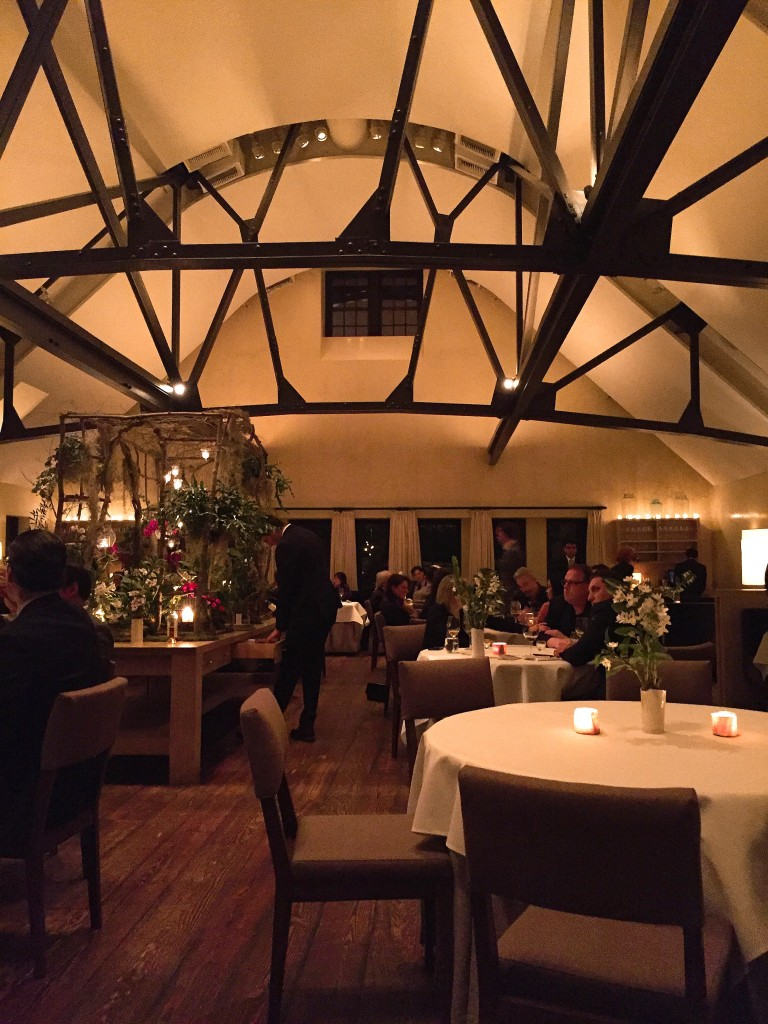 Main dining area at Blue Hill Stone Barns