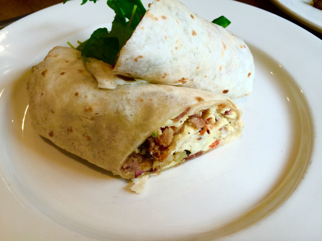 The burrito at Boma Green