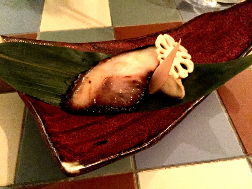Cobia with miso at Yashin Ocean House