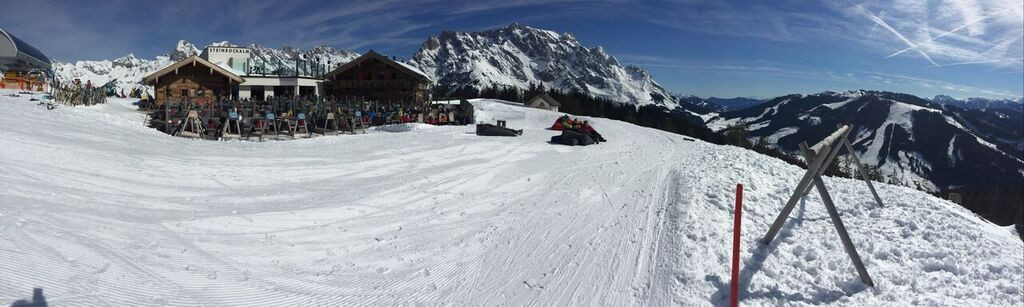 Great setting at Steinbockalm