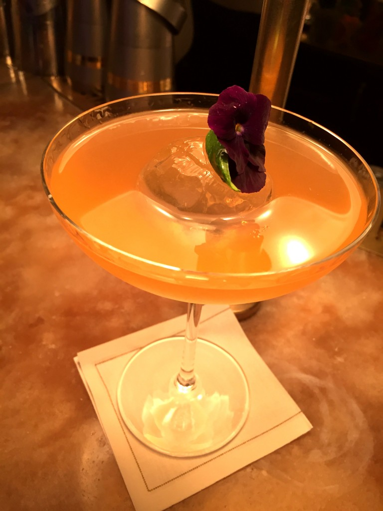 Gorgeous cocktail at Chiltern Firehouse