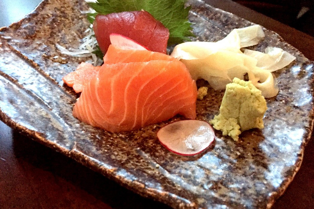 Sashimi at Koji Restaurant Parsons Green