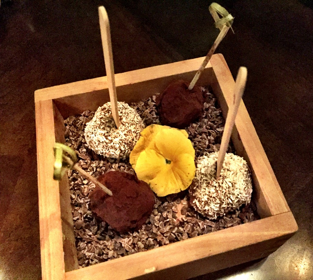 Truffles at Koji Restaurant Parsons Green