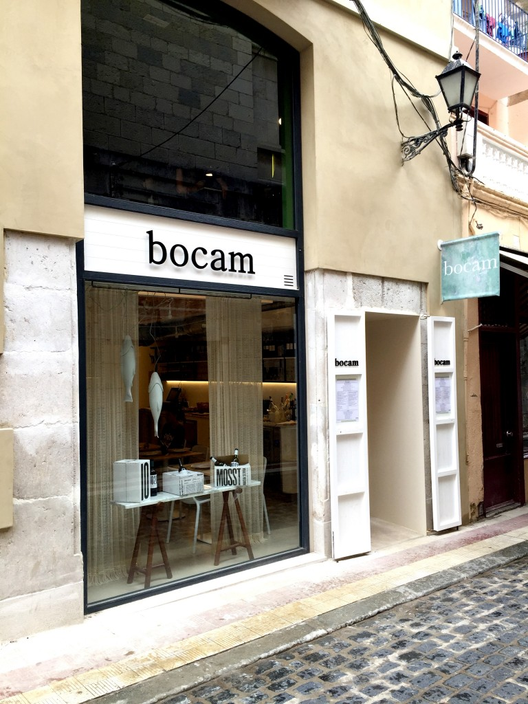 Outside at Bocam in Figueres