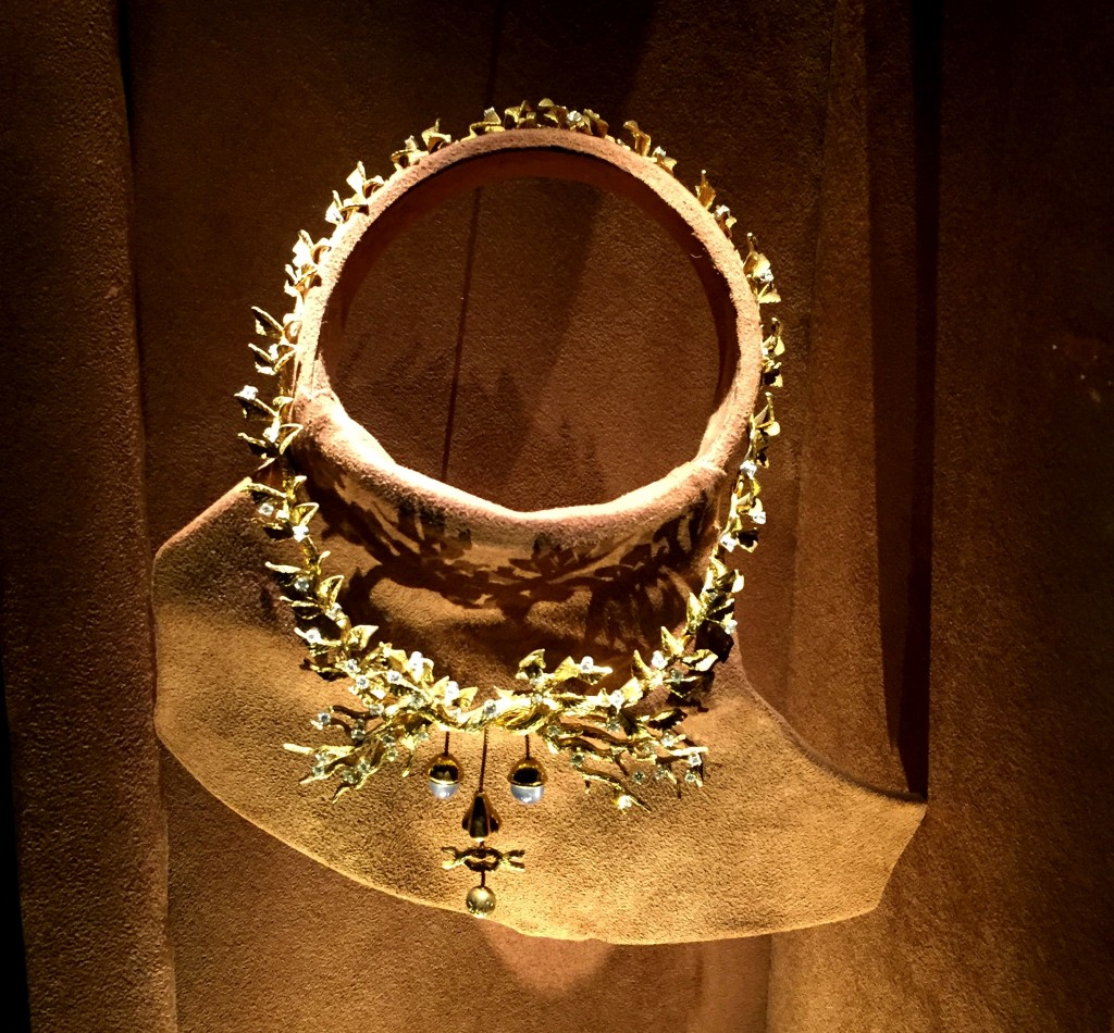 Necklace at the Dali Jewelry museum in Figueres