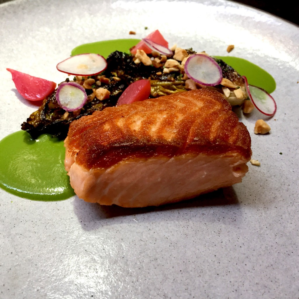 Perfect salmon at The Nomad NYC