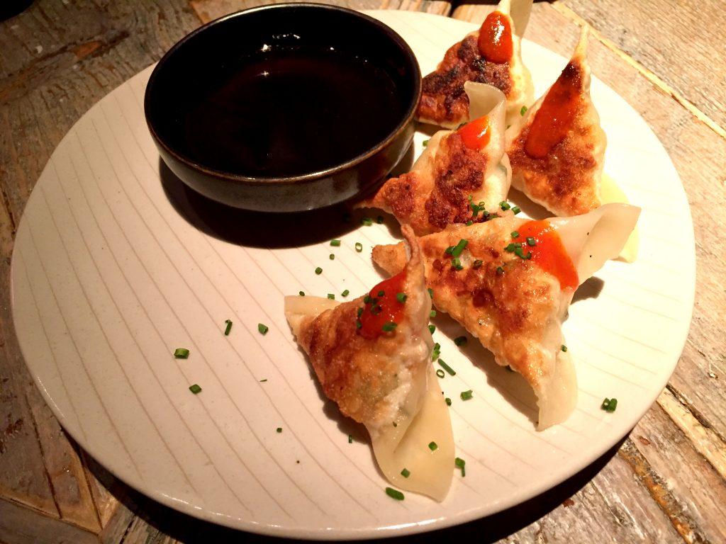 Lobster and crab wonton at Black Roe London