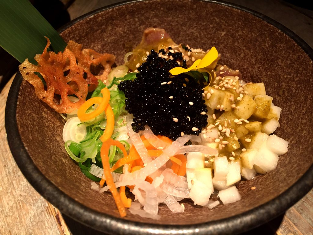 The signature Black Roe Poke