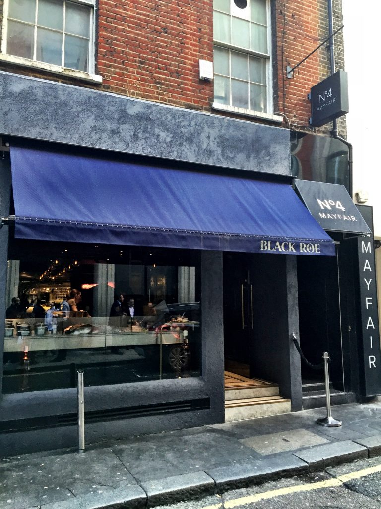 Black Roe Restaurant London