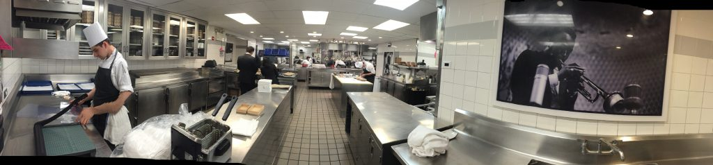 Absolutely impeccable kitchen at Eleven Madison Park