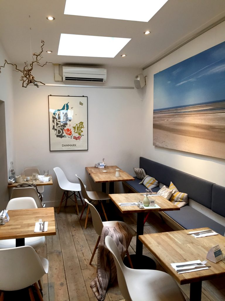 Cute and intimate setting at Snaps & Rye