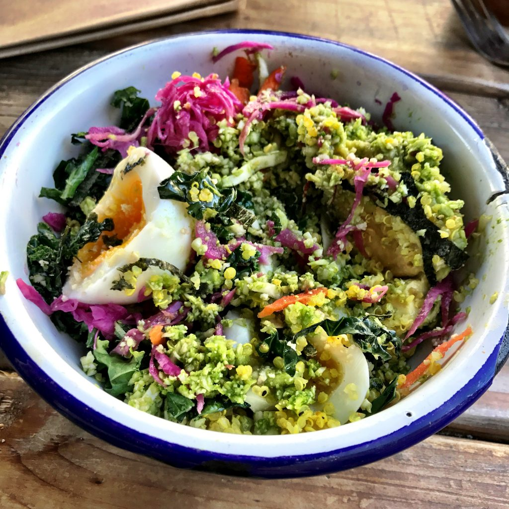 Bondi Harvest Los Angeles rainbow bowl