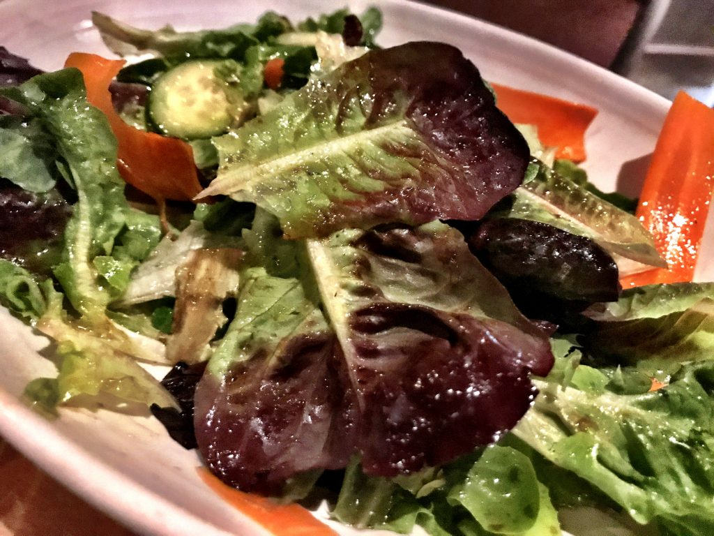 Green salad AR Cucina Culver City