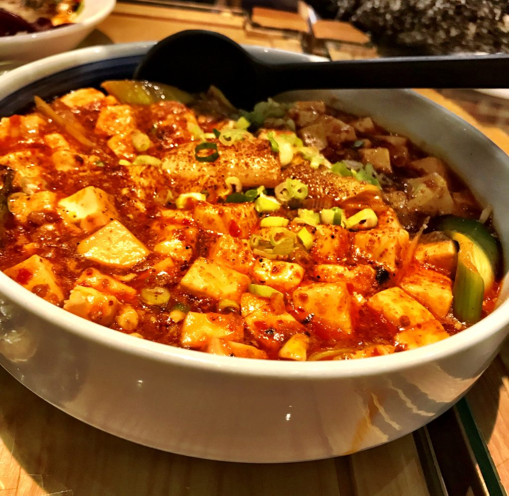 Super spicy Mao Po Tofu at Hip Hot