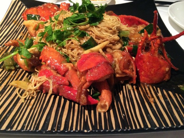 Pear Liang famous lobster noodles