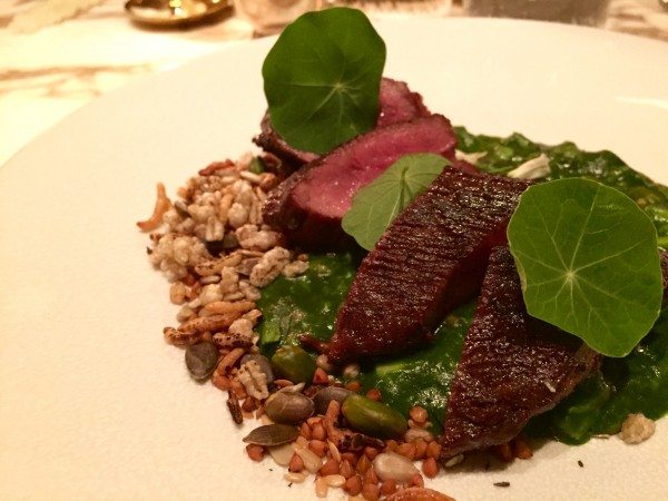 Iberico pork at Chiltern Firehouse