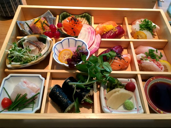 Gluten Free Bento Box Lunch at Engawa London